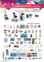 MICROSCOPES, BIOLOGICAL MODELS
